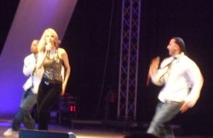Discoshow of C.C.Catch in Romania
